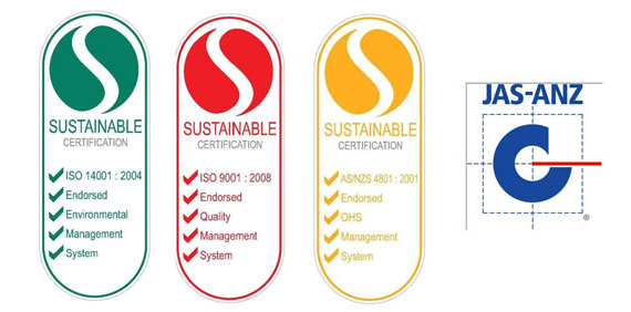 sustainable certification iaf jas-anz newcastle hunter lake macquarie